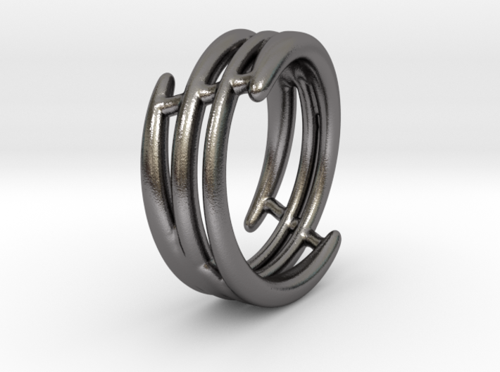Ring of set : Soft Energy (size 5) 3d printed