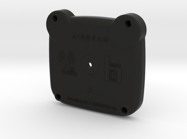 AirBeam Bottom 3d printed