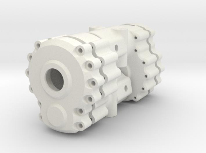 Portal Axle - Axial AX10, SCX10, lockout 3d printed