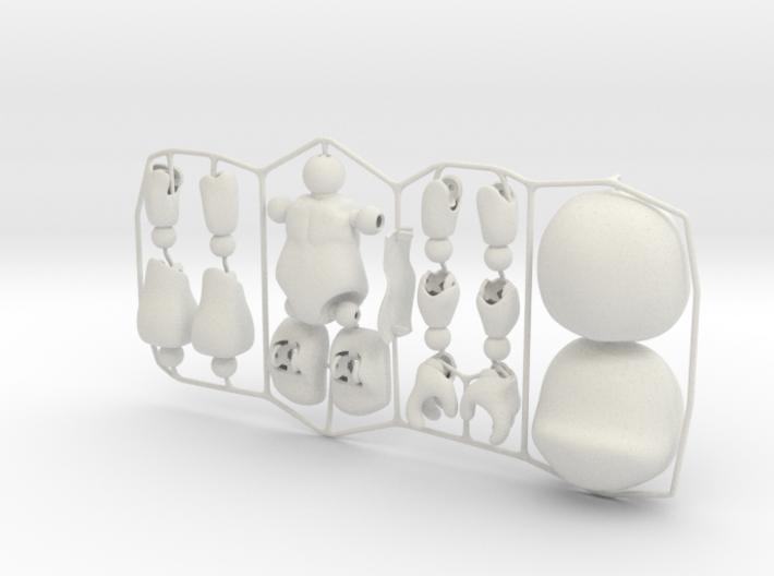 Male CAP-Figure 2015 3d printed