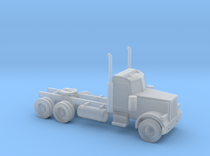 Peterbilt 379 Daycab - Nscale 3d printed