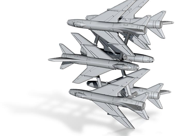 1/600 Su-7BM Fitter (x6) 3d printed