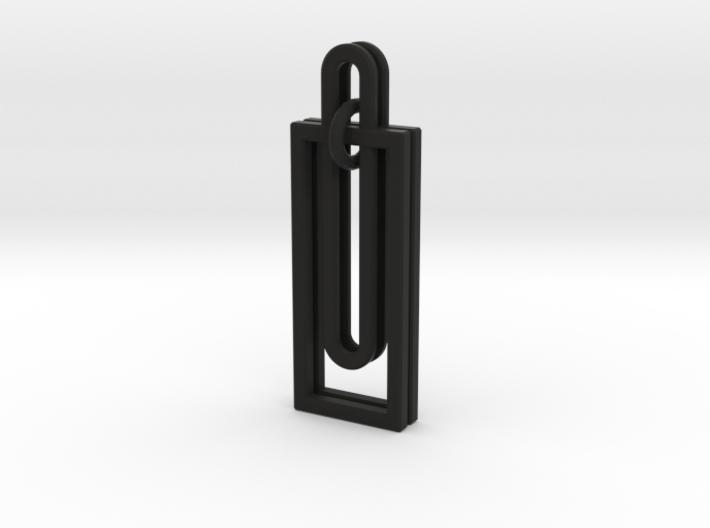 Simple Geometry - Modern Earrings with Clean Lines 3d printed