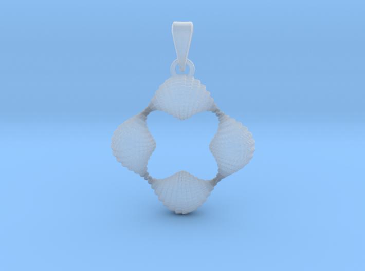 0063 Antisymmetric Torus Pendant (p=4.0) #004 3d printed