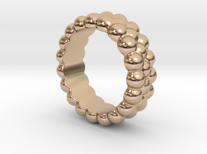 RING BUBBLES 18 - ITALIAN SIZE 18 3d printed