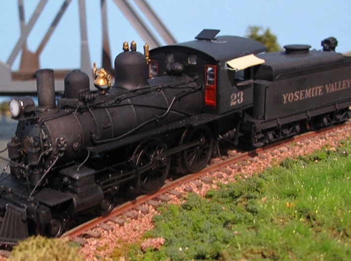 HO/ On30 Oil Bunker for Bachmann Steam 3d printed