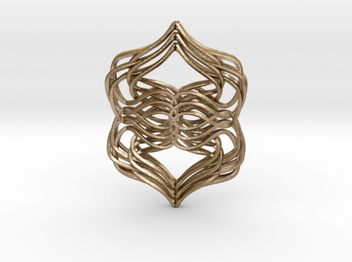 Weaver's Pendant 3d printed