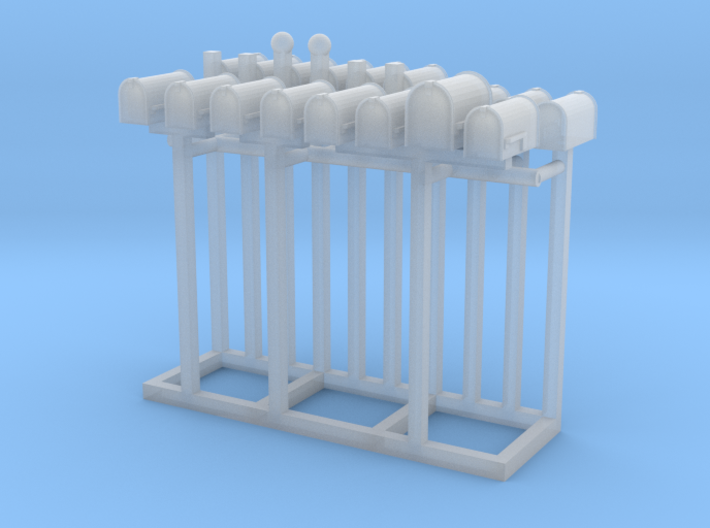 Mailbox Residential Collection S Scale 3d printed