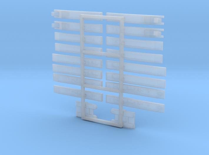 Marinefährprähme (MFP) 1/2400 3d printed