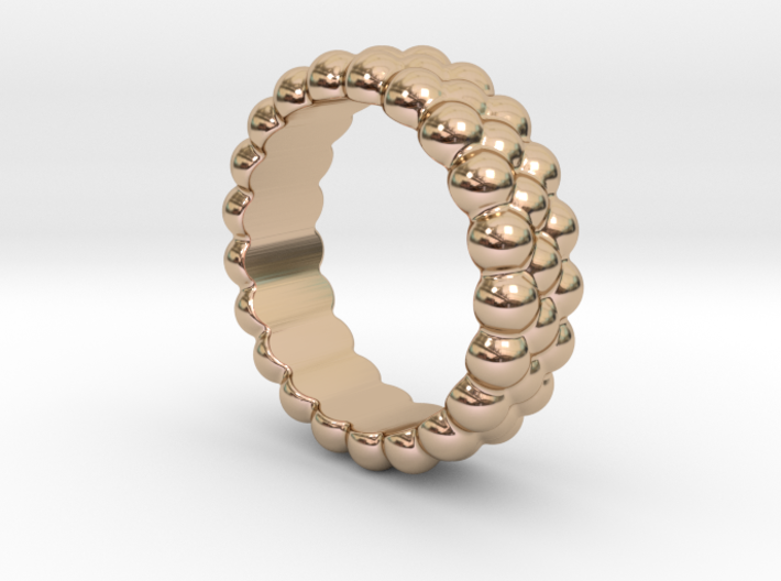 RING BUBBLES 26 - ITALIAN SIZE 26 3d printed