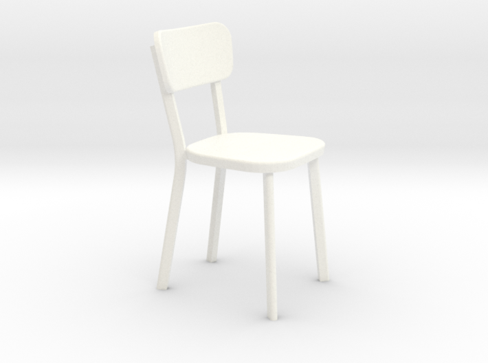 Deja-vu Chair 1:12 scale modern designer chair 3d printed