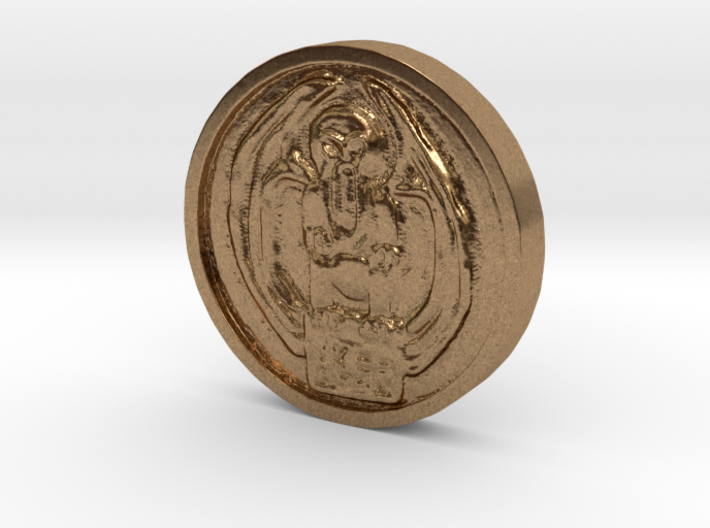 Cthulhu Coin 3d printed