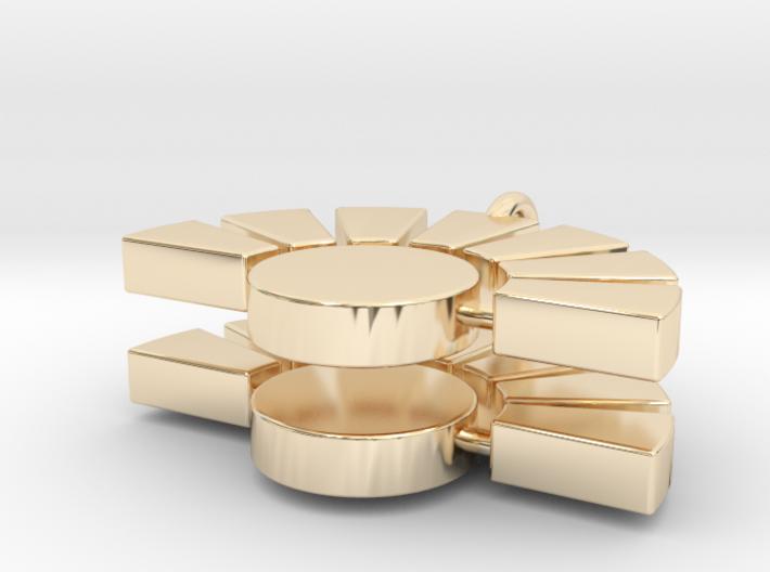 IMD earrings 3d printed