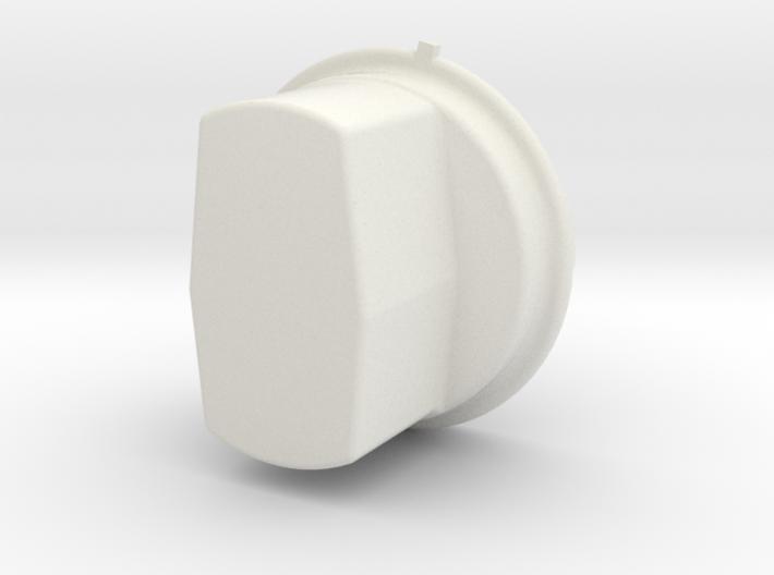 A single Thinner Extended Silverado headlight cap 3d printed