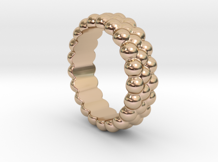 RING BUBBLES 29 - ITALIAN SIZE 29 3d printed
