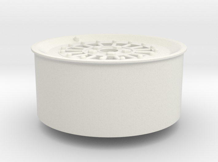 Car Rim for Model Scale 1/24 3d printed