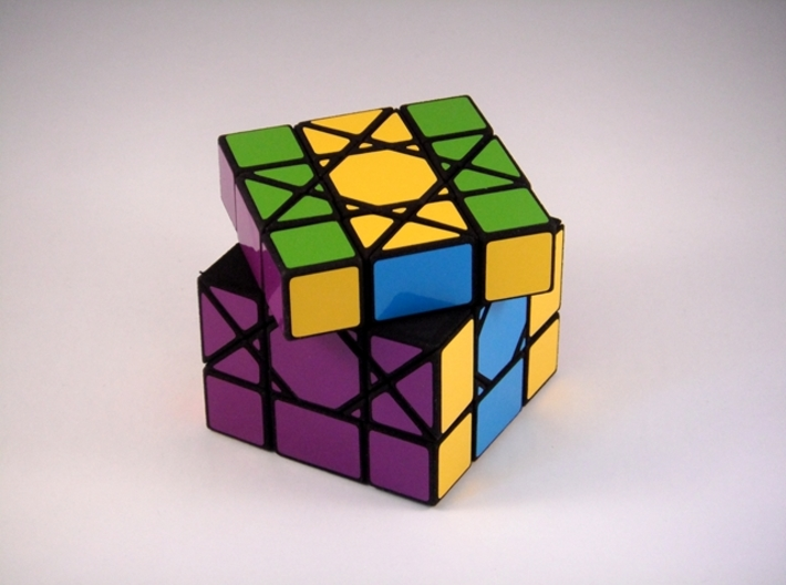 OctoCube Puzzle 3d printed 45 Degree Turn