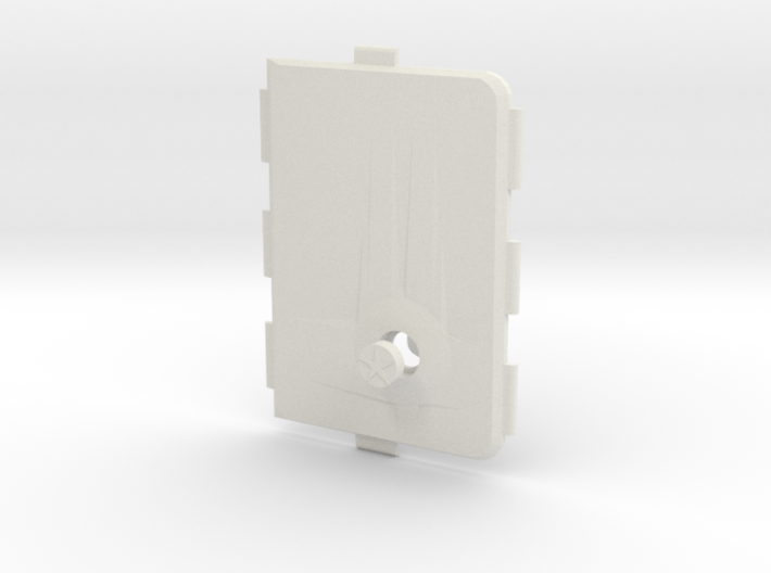 MARK V Cover Push-button  3d printed