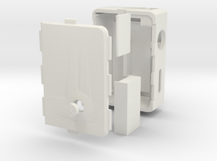 MARK V v3 + Cover push-button + DNA Case 3d printed
