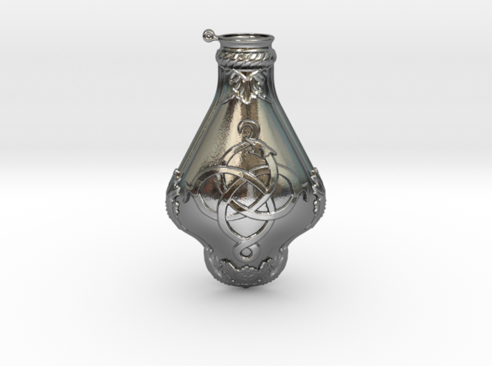 The Order Vial V3- MainBody 3d printed