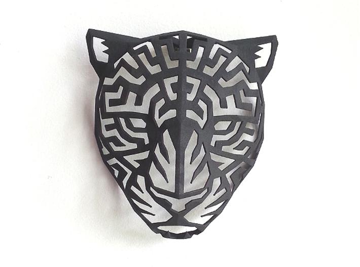 Modern Faux Taxidermy - Jaguar Head (M) 3d printed