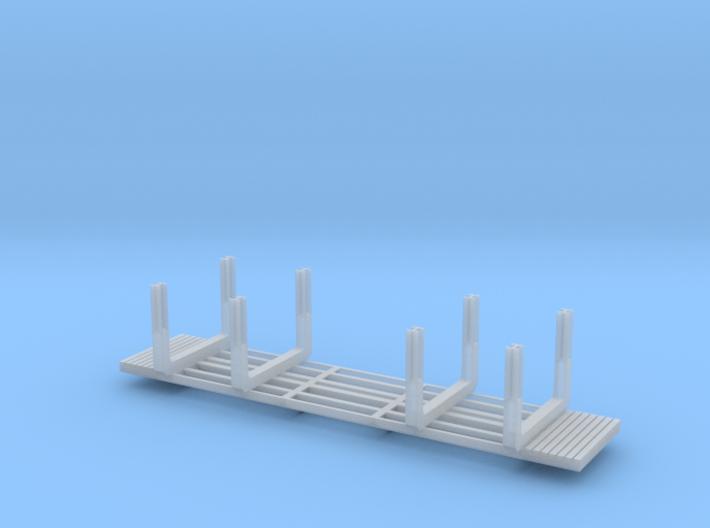 NP-BN Log Bunks Heavy HO 03b 3d printed