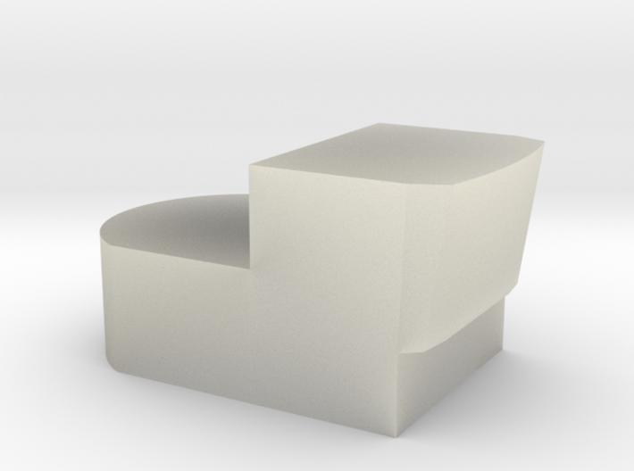 NoPaint AF Disposal (pt5: translucent) 3d printed