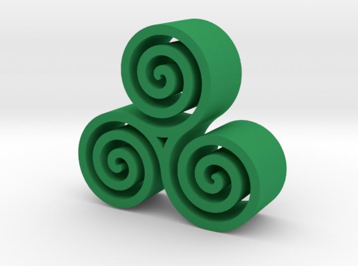 3 Spirals 3d printed