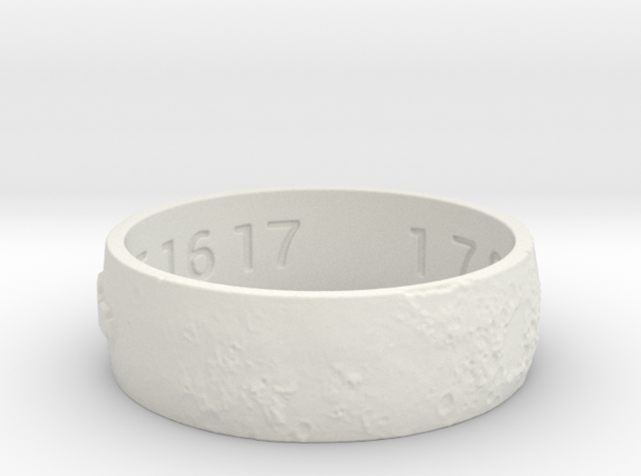 Moon Ring V3 Size 11.5 Ring Size 11.5 3d printed