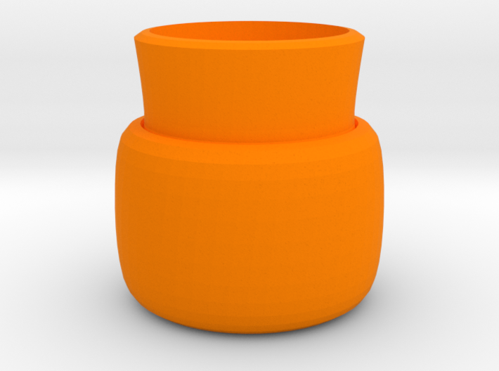2 layers vase 3d printed