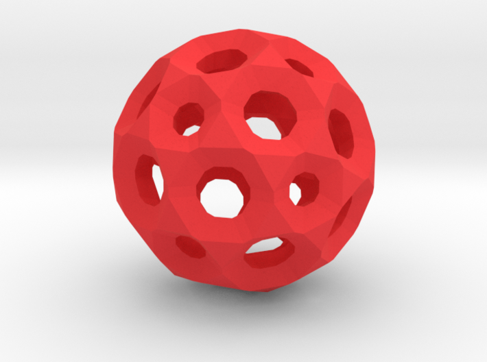 Sphere with holes 3d printed