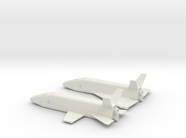 1/400 MCCALL EARLY SPACE SHUTTLE CONCEPTS 3d printed