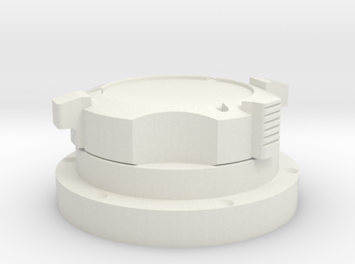 Apollo Scaled GasConnector (Left) for Revell Man o 3d printed