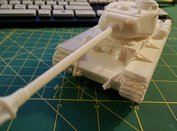 1:48 KV-1S Tank from World of Tanks game 3d printed Photo of printed model