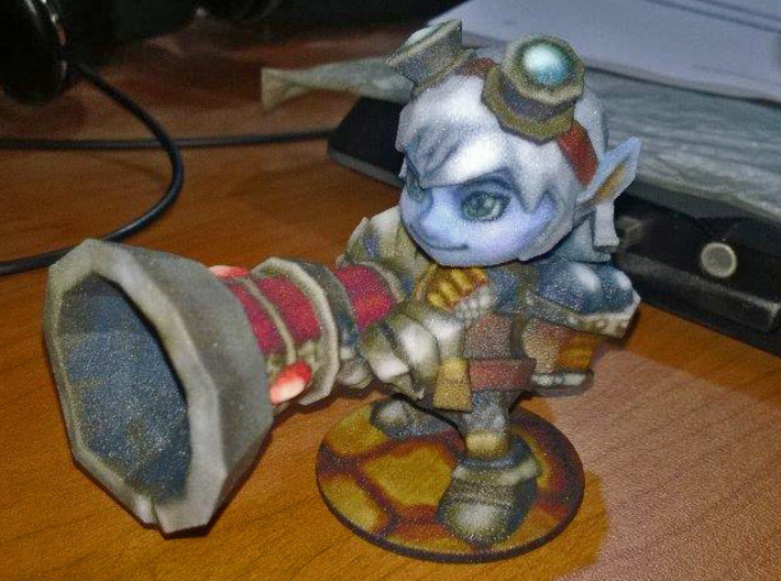 Tristana - 65mm 3d printed Customer picture