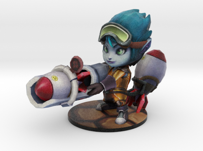 Rocket Girl Tristana - 65mm 3d printed