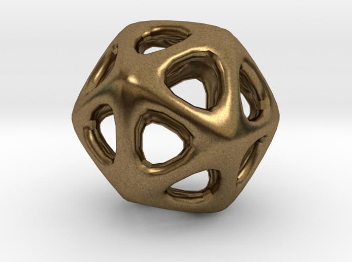 Icosahedron - 2.3cm 3d printed