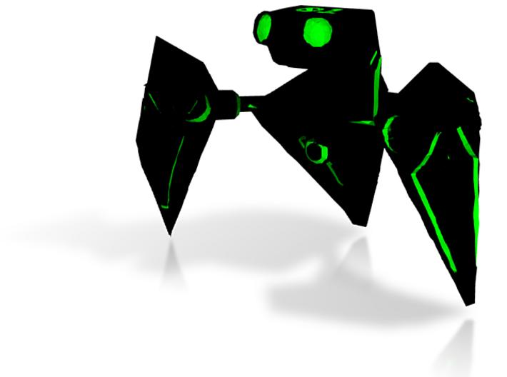 Tri-crab Bot - 01.wrl 3d printed