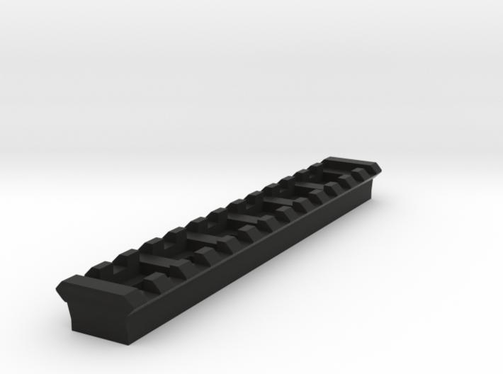 13 Slots Rail For Tripod Screw 3d printed
