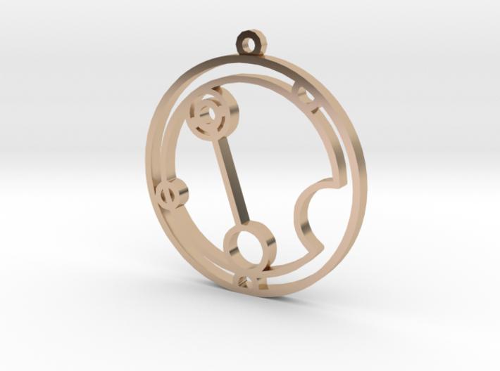 Natalie - Necklace 3d printed
