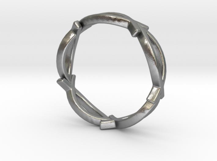 Jesus Fish Eterniy Style Ring Size 13 3d printed