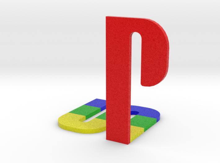 Playstation Logo 3d printed