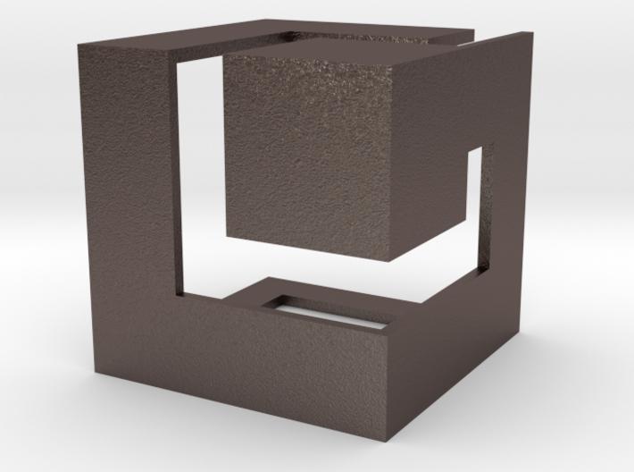 Gamecube Logo 3d printed