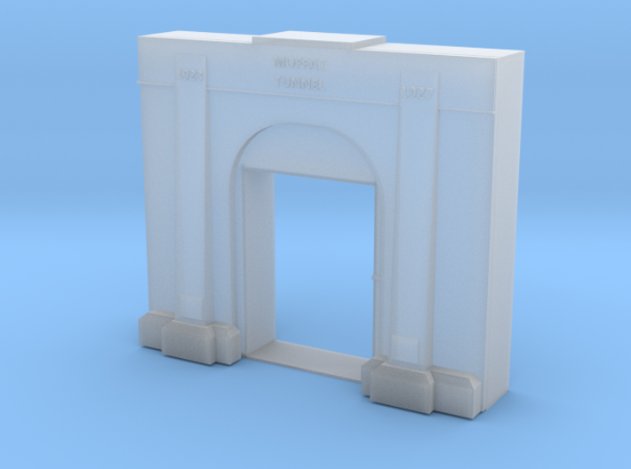 Moffat Tunnel Entry N Scale 3d printed