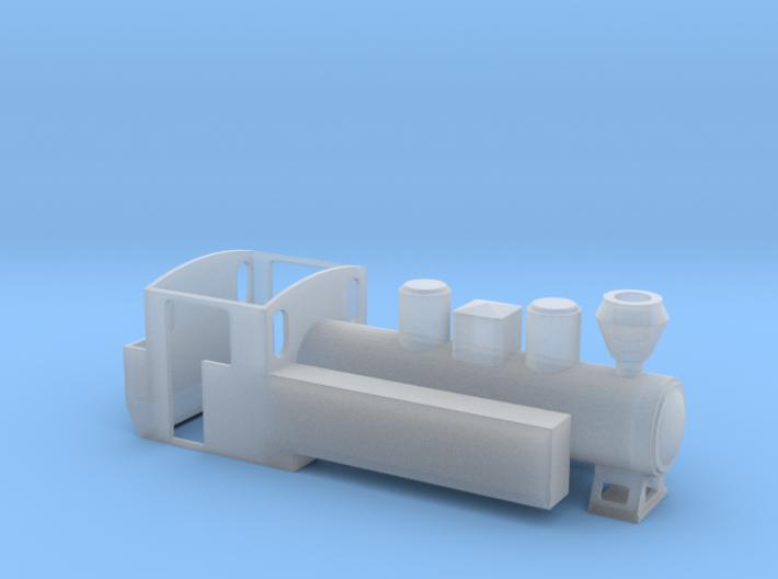 TTe Resita 150hp Forestry Locomotive 3d printed