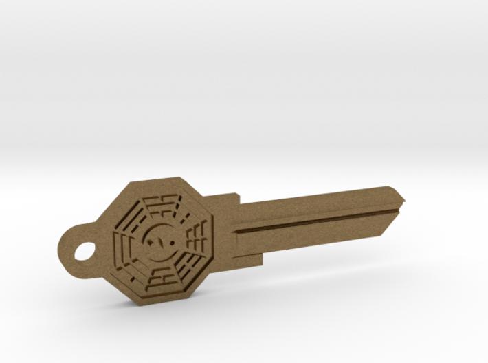 Bagua House Key Blank - KW11/97 3d printed