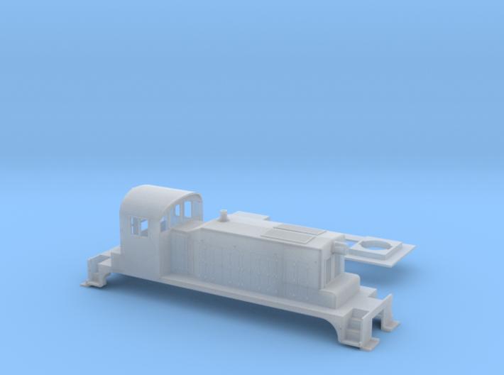 SW1 N Scale 3d printed