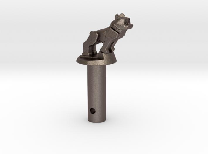 Bull-spring-pin 3d printed