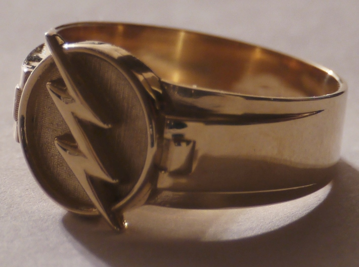 Reverse Flash Size 14 Ring 23mm 3d printed