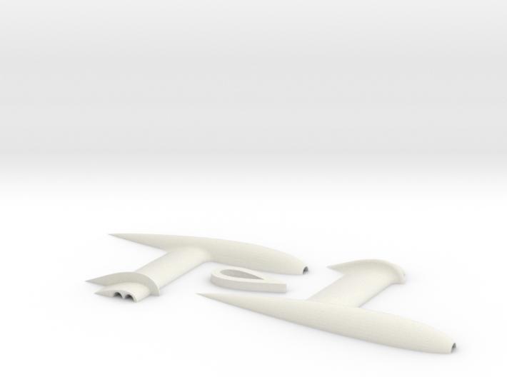 3DR Pixhawk Airspeed Sensor Pitot Tube Mount 3d printed